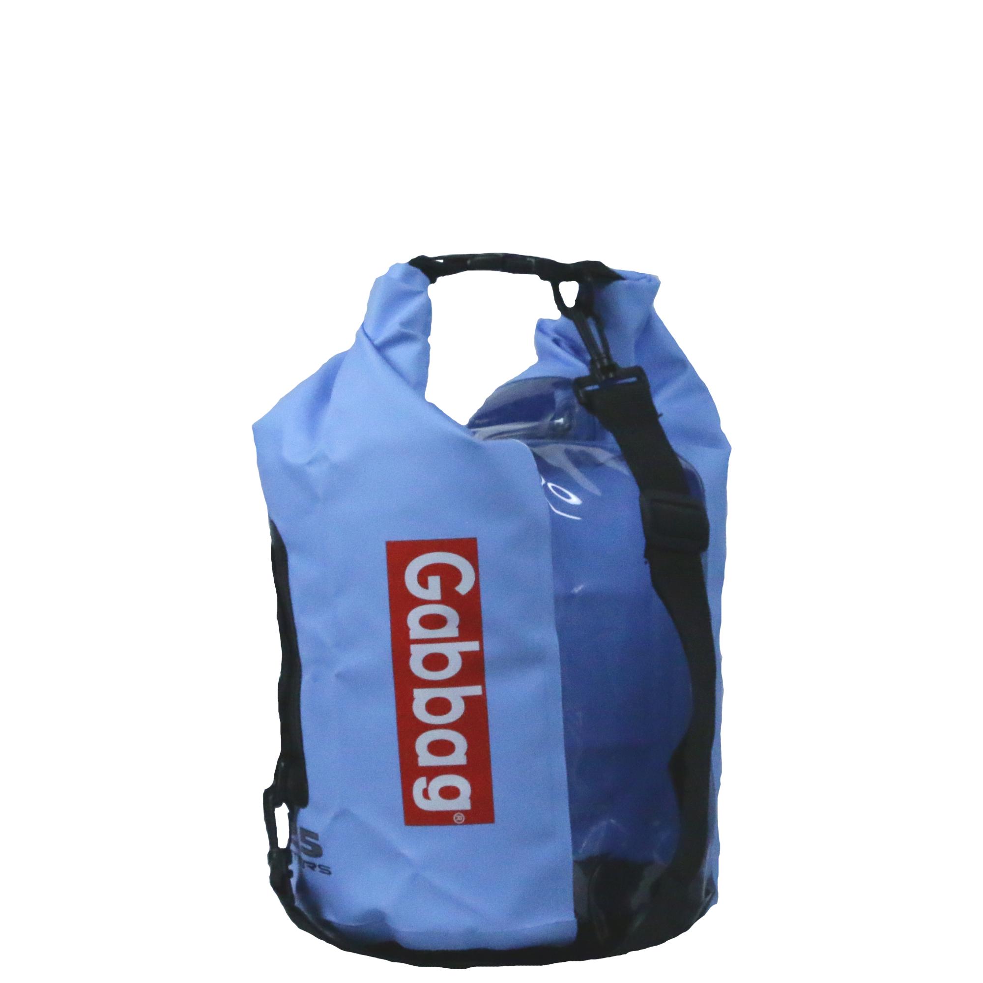 blauwe waterdichte zak 25 liter