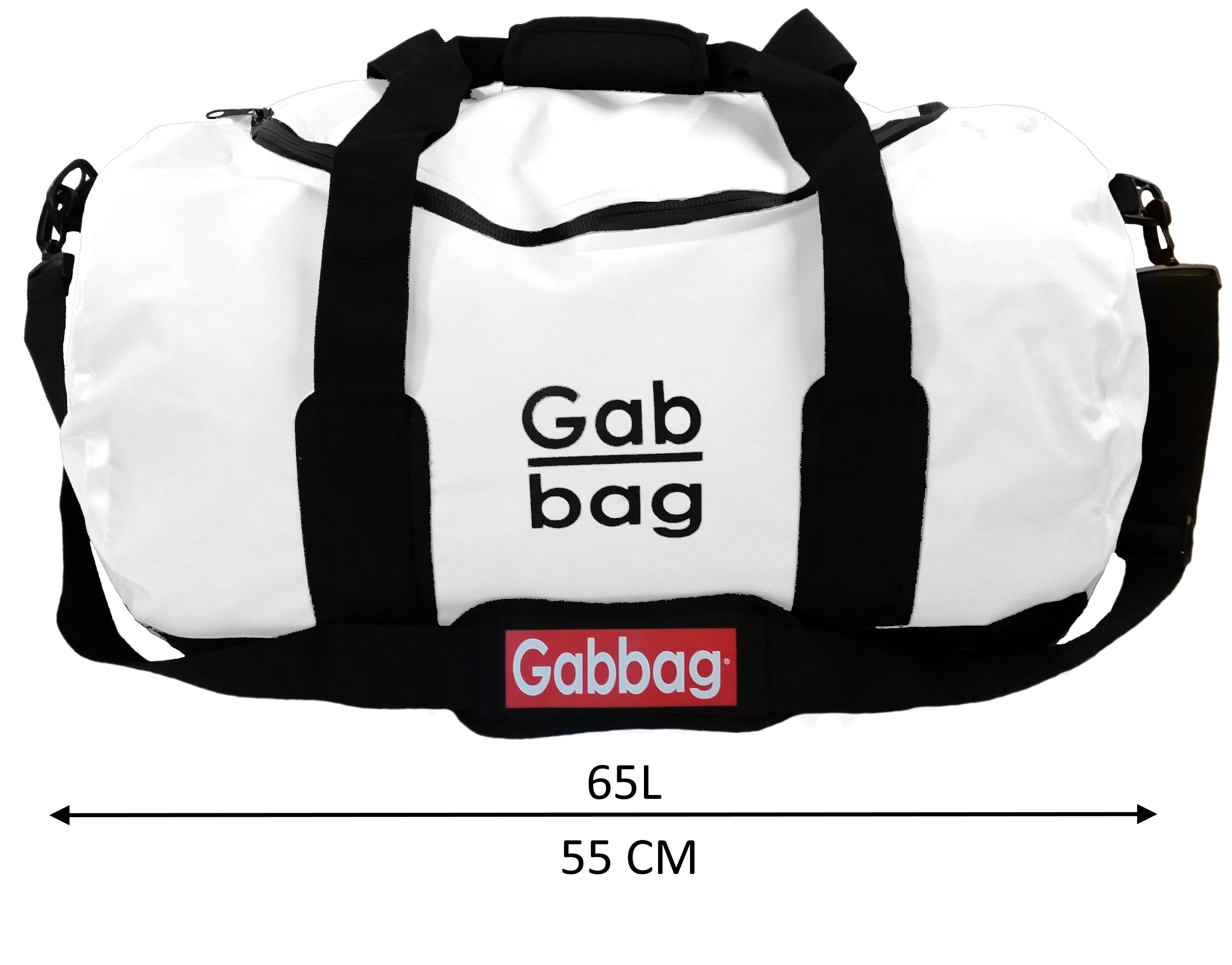 waterafstotende duffeltas wit Gabbag