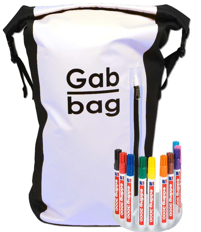 1 Gabbag Original 35L Wit by you