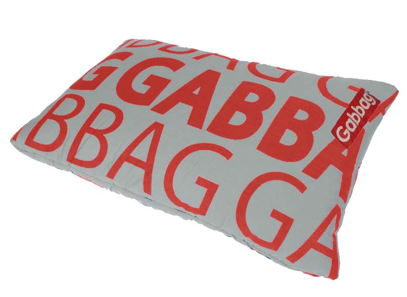 Reiskussen Gabbag rood
