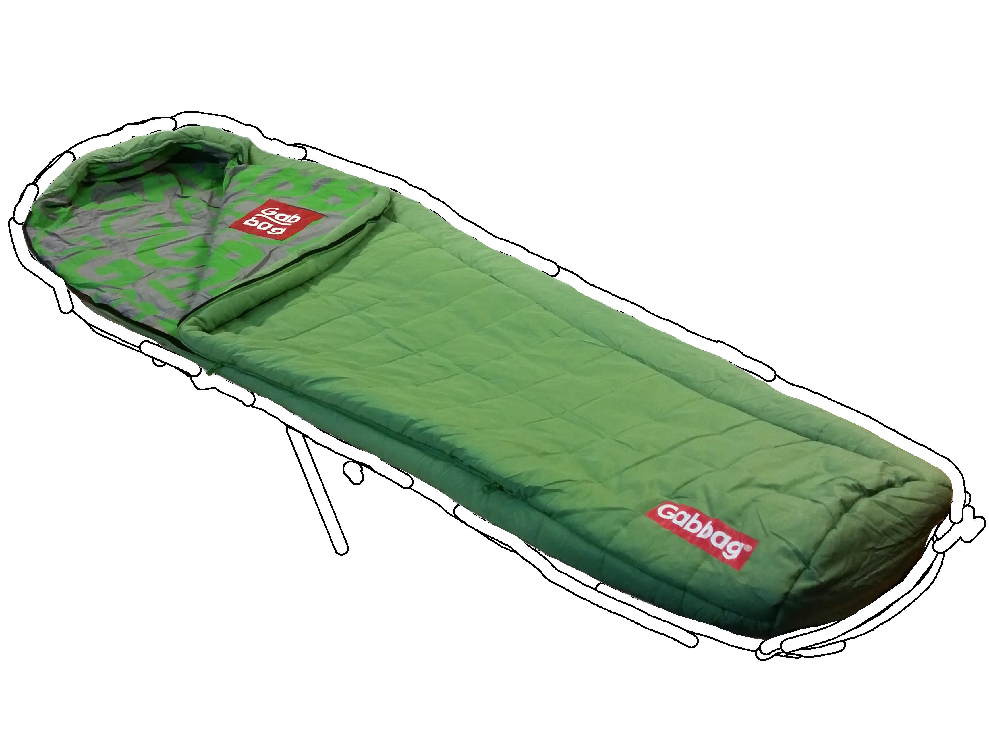 Mummymodel slaapzak Groen