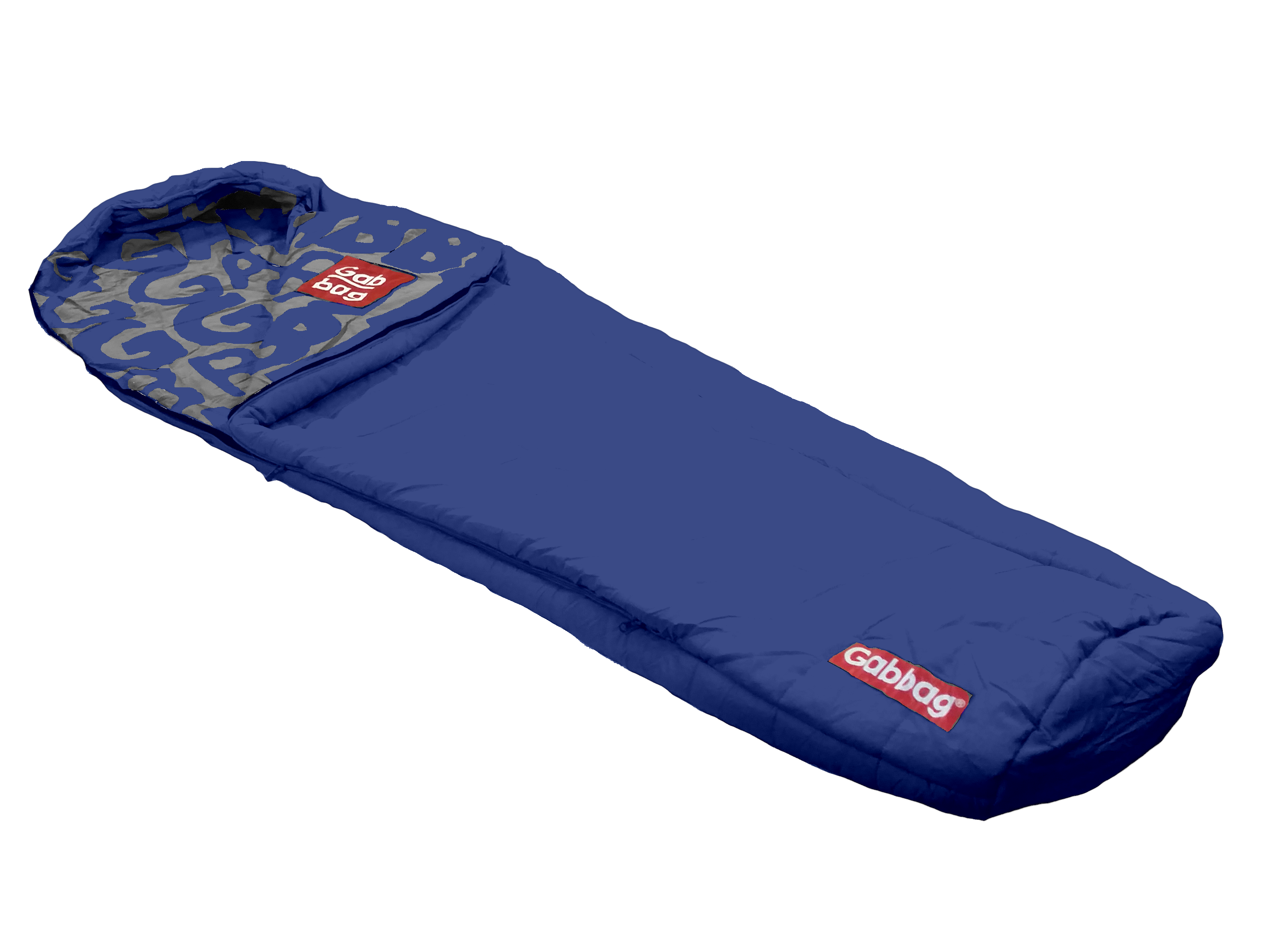 Mummymodel slaapzak Blauw