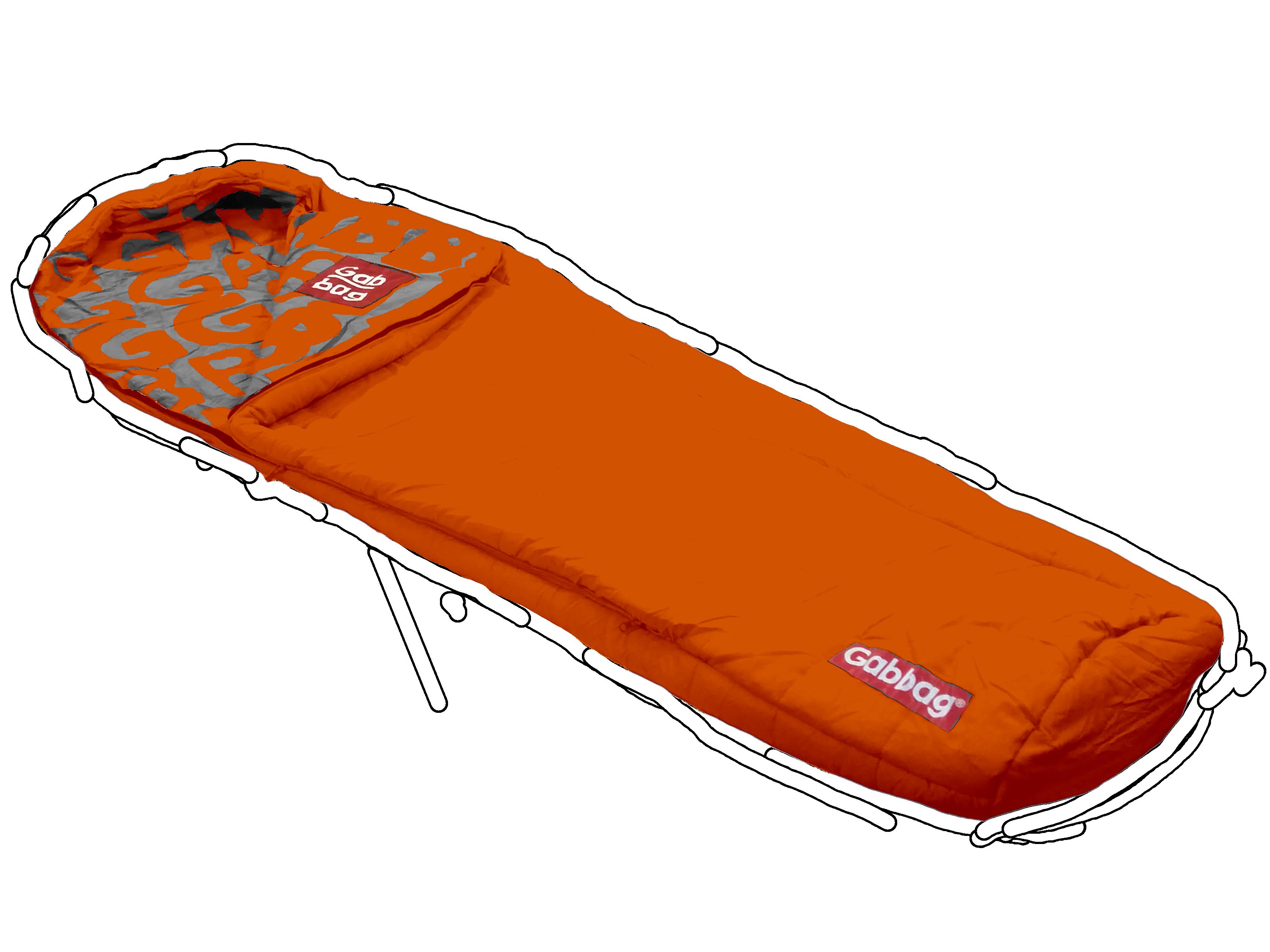 Mummymodel slaapzak Oranje