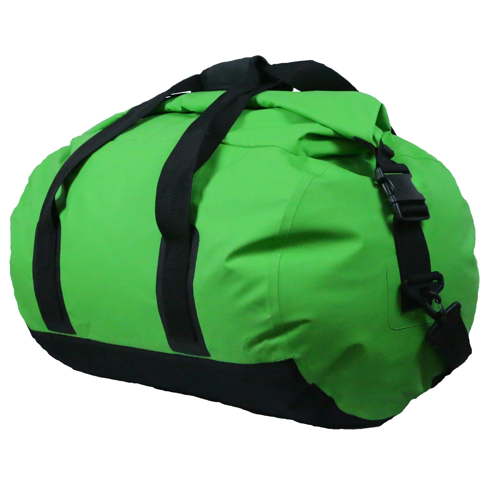 waterdichte duffeltas groen