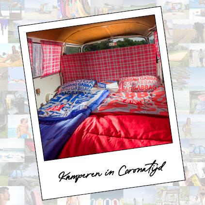 kamperen in corona tijd